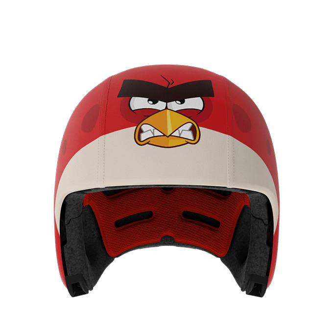 EGG Helmet - Skin - Angry birds red - Helmet Skins and Add-ons - Bmini | Design for Kids