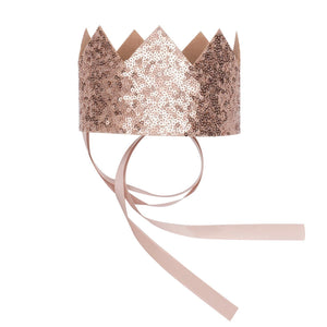 Billy Loves Audrey - Crown - Gold sequin - Party - Bmini | Design for Kids