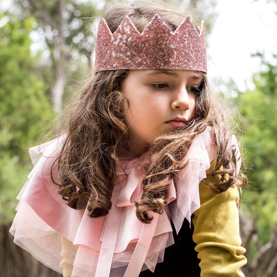 Billy Loves Audrey - Crown - Pink sequin - Party - Bmini | Design for Kids