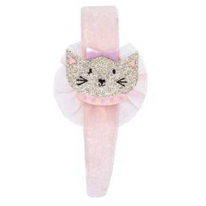 Billy Loves Audrey - Velvet headband - Cat - Hair accessories - Bmini | Design for Kids