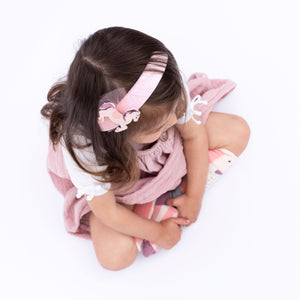 Billy Loves Audrey - Velvet headband - Pony - Hair accessories - Bmini | Design for Kids