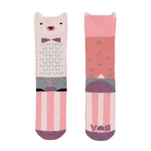 Billy Loves Audrey - Knee hi socks - Lama - Socks & Tights - Bmini | Design for Kids
