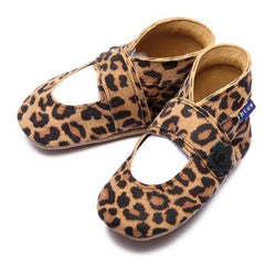 Inch Blue - Mary Jane (Leopard) - Shoes - Inch Blue - Bmini - Design for Kids