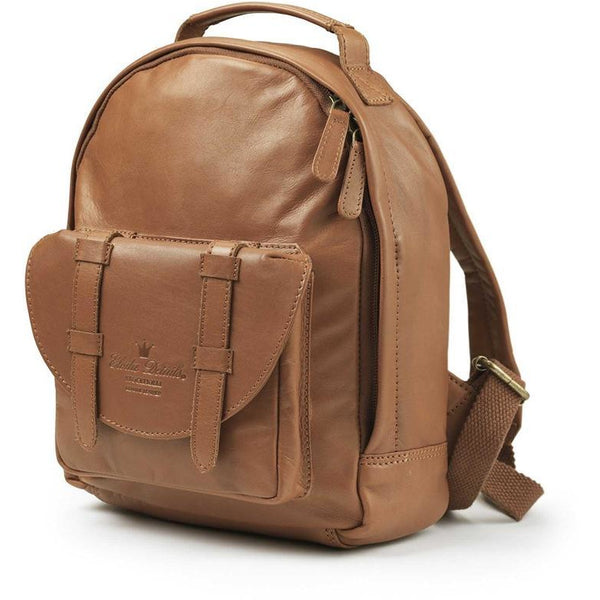 Elodie Details - Backpack Mini - Chesnut leather - Backpack - Bmini | Design for Kids