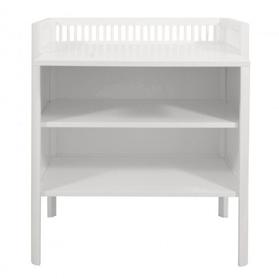 Sebra - Changing unit - white - Changing Unit - Sebra - Bmini - Design for Kids - 1