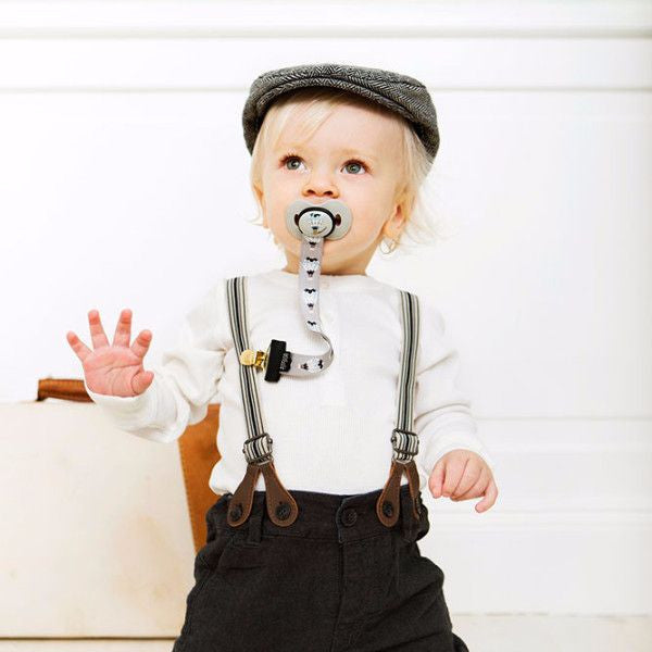 Elodie Details - Pacifier Clip - Moon Balloon