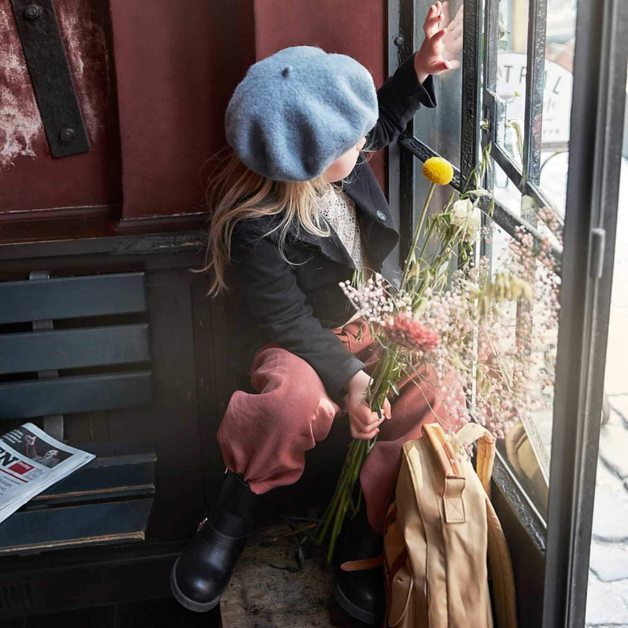 Elodie Details - Beret - Tender blue - Hats - Bmini | Design for Kids