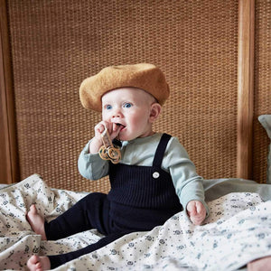 Elodie Details - Beret - Gold - Hats - Bmini | Design for Kids