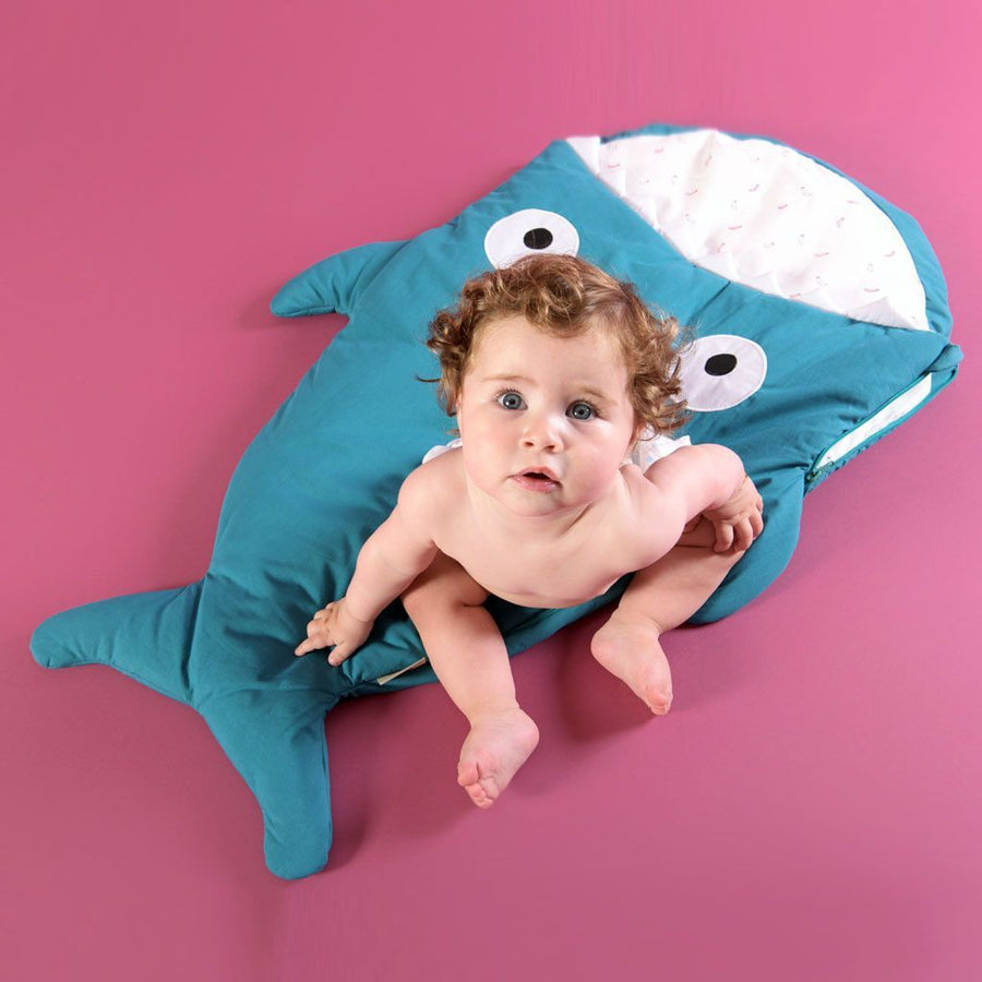 Baby Bites - Sleeping bag - Esmerald Green - Sleeping bag - Bmini | Design for Kids