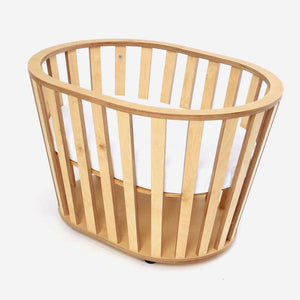 Crib Miniguum Natural - Guum - Crib - Bmini | Design for Kids