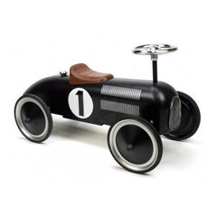 Retro Roller - Vintage black racer - Jack - Ride on toy - Retro Roller - Bmini - Design for Kids - 1
