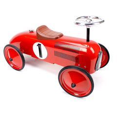 Retro Roller - Classic Red Racer - James - Ride on toy - Retro Roller - Bmini - Design for Kids - 1