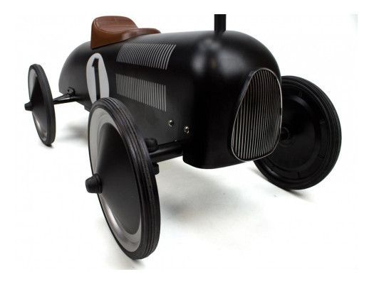 Retro Roller - Vintage black racer - Jack - Ride on toy - Retro Roller - Bmini - Design for Kids - 3