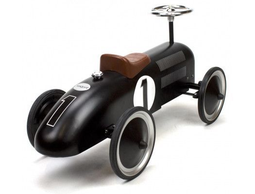 Retro Roller - Vintage black racer - Jack - Ride on toy - Retro Roller - Bmini - Design for Kids - 2