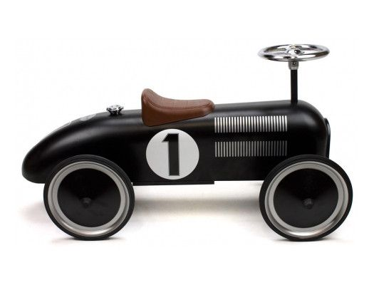 Retro Roller - Vintage black racer - Jack - Ride on toy - Retro Roller - Bmini - Design for Kids - 4