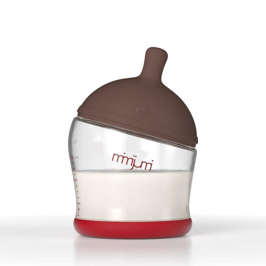 Mimijumi - Not So Hungry (120ml/4 oz) - Darker nipple - Baby bottle - Bmini | Design for Kids