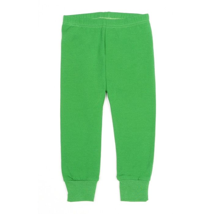 Mundo Melocotón - Leggings Jersey - Green - Pants - Bmini | Design for Kids