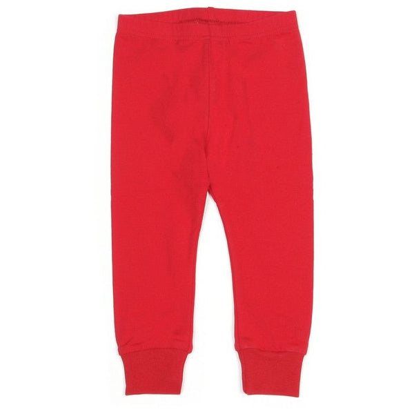 Mundo Melocotón - Leggings Jersey - Red - Pants - Bmini | Design for Kids