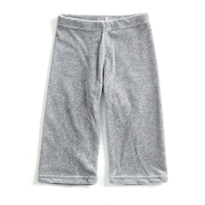 Mundo Melocotón - Pants Velvet - Grey - Melee - Pants - Bmini | Design for Kids