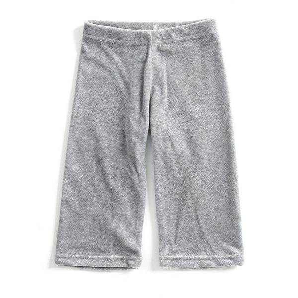 Mundo Melocotón - Pants Velvet - Grey - Melee - Pants - Mundo Melocoton - Bmini - Design for Kids