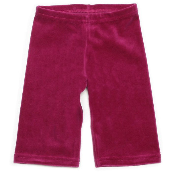 Mundo Melocotón - Pants Velvet - Raspberry - Pants - Bmini | Design for Kids