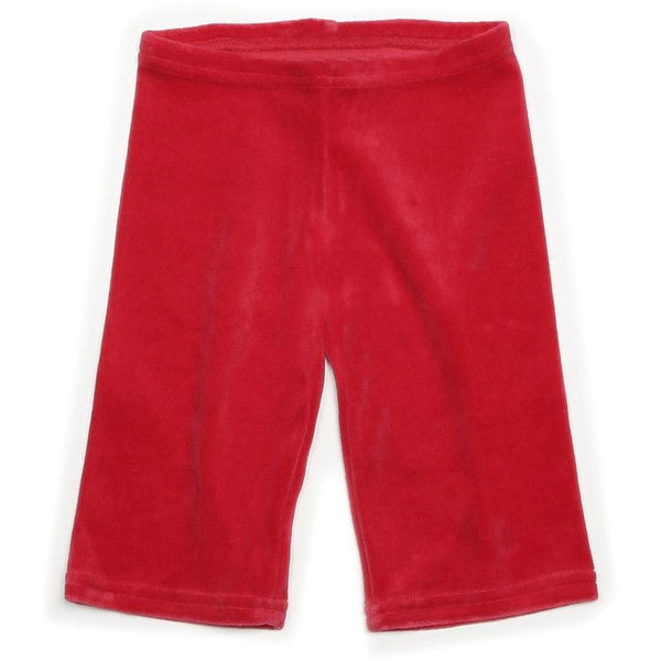 Mundo Melocotón - Pants Velvet - Red - Pants - Bmini | Design for Kids