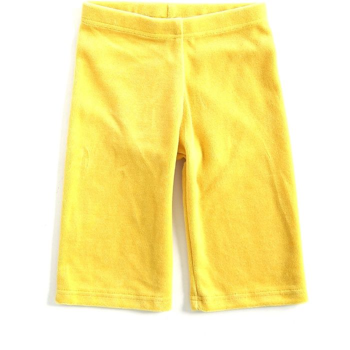 Mundo Melocotón - Pants Velvet - Yellow - Pants - Bmini | Design for Kids