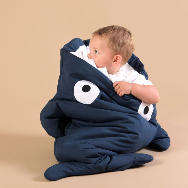 Baby Bites - Sleeping bag - Navy Blue - Sleeping bag - Baby Bites - Bmini - Design for Kids - 5