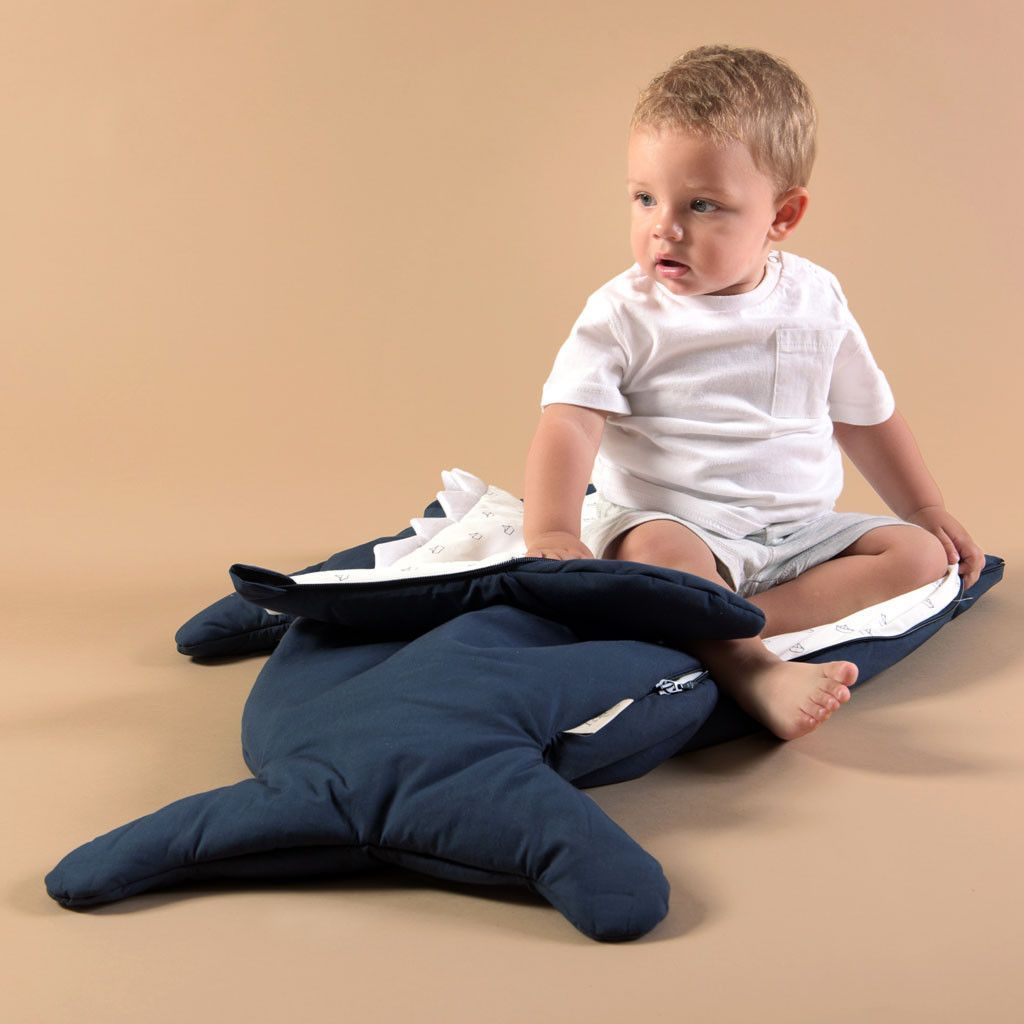 Baby Bites - Sleeping bag - Navy Blue - Sleeping bag - Bmini | Design for Kids