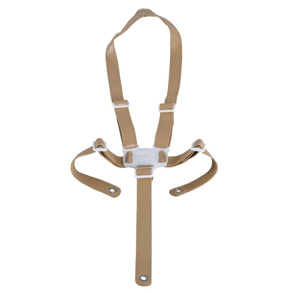 Micuna OVO - Beige Leatherette Security Straps - High chair accessories - Bmini | Design for Kids