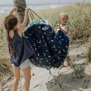 Play & Go - Outdoor beach storage bag and play mat - Surf - Play Mat - Bmini | Design for Kids