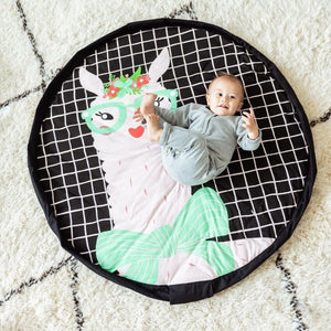 Play & Go - Play mat - Soft edition - Lama - Play Mat - Bmini | Design for Kids