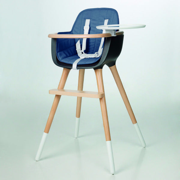 Micuna - Ovo Plus high chair - cobalt blue - High chair - Micuna - Bmini - Design for Kids - 1