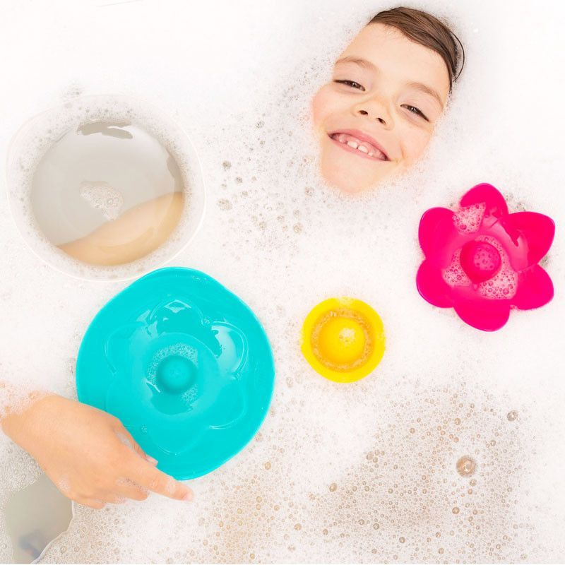 Quut - Lili floating flower - bath toys - Bmini | Design for Kids