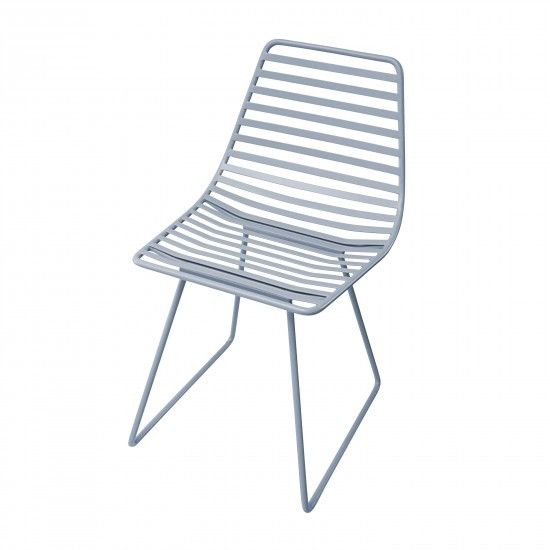 Sebra - Me-Sit metal chair - S - cloud blue - Chair - Sebra - Bmini - Design for Kids