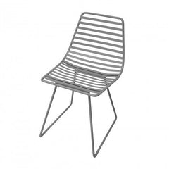 Sebra - Me-Sit metal chair - S - dark grey - Chair - Sebra - Bmini - Design for Kids