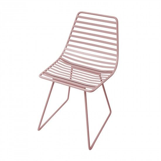 Sebra - Me-Sit metal chair - S - vintage rose - Chair - Sebra - Bmini - Design for Kids
