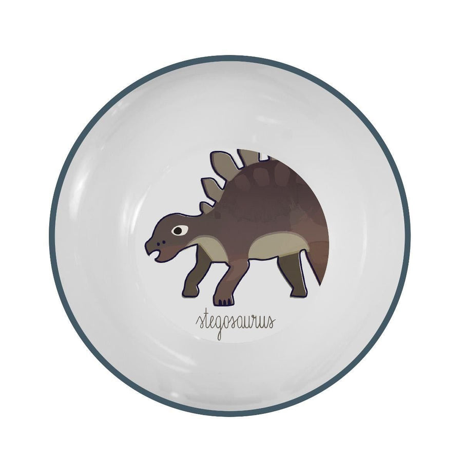 Sebra - Melamine bowl - Dino - Eat - Bmini | Design for Kids