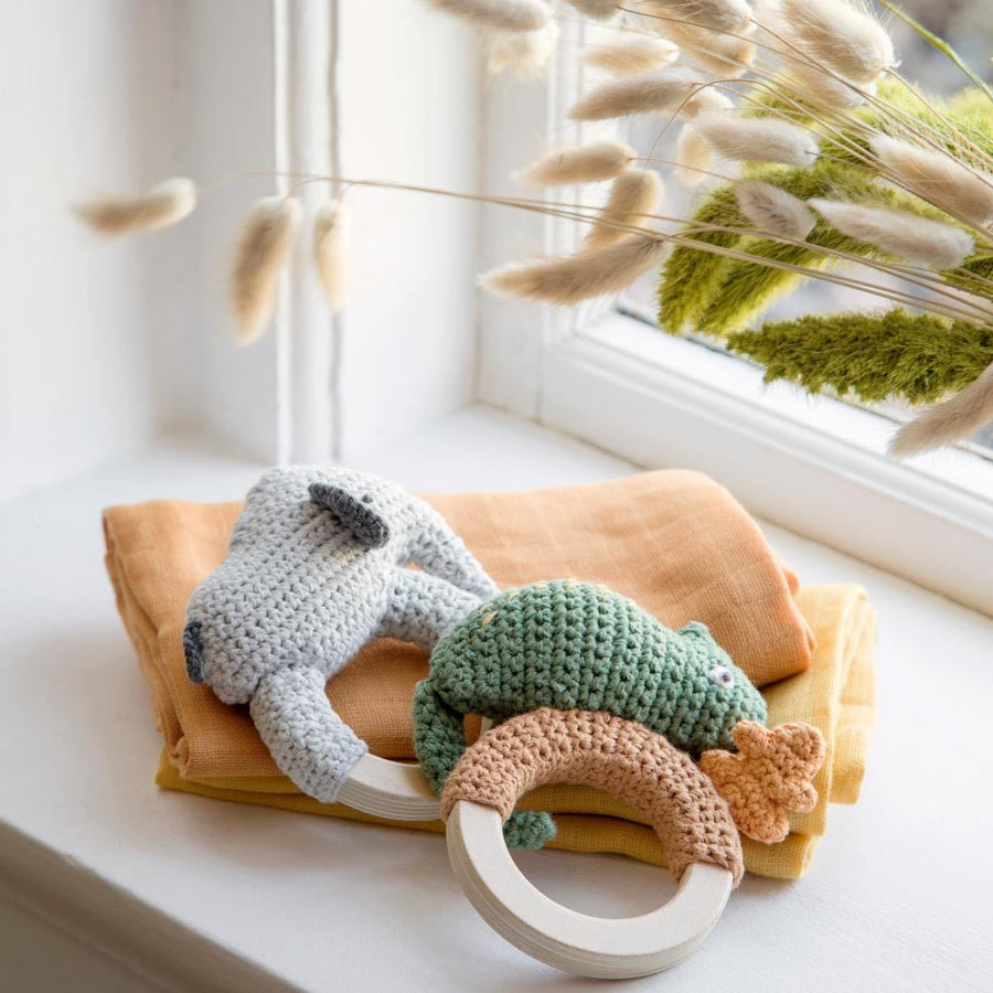 Sebra - Baby rattle - Finley on ring - Rattle - Bmini | Design for Kids