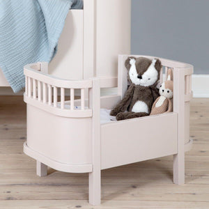 Sebra - Sebra dolls bed - Dusty Pink - Dolls accessories - Bmini | Design for Kids