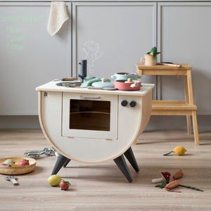 Sebra - Play kitchen - Classic white - Kitchen - Bmini | Design for Kids