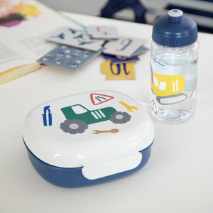 Sebra - Lunch box with divider - Little driver - Lunchbox - Bmini | Design for Kids