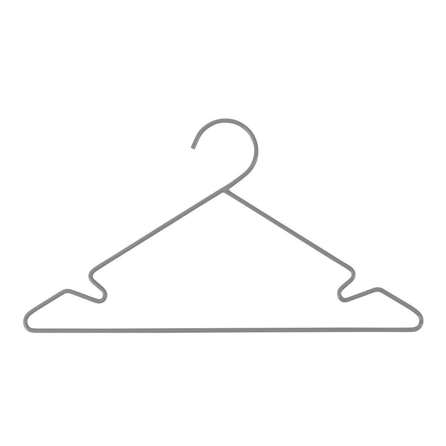Sebra - Metal hangers - 3 pieces - Grey