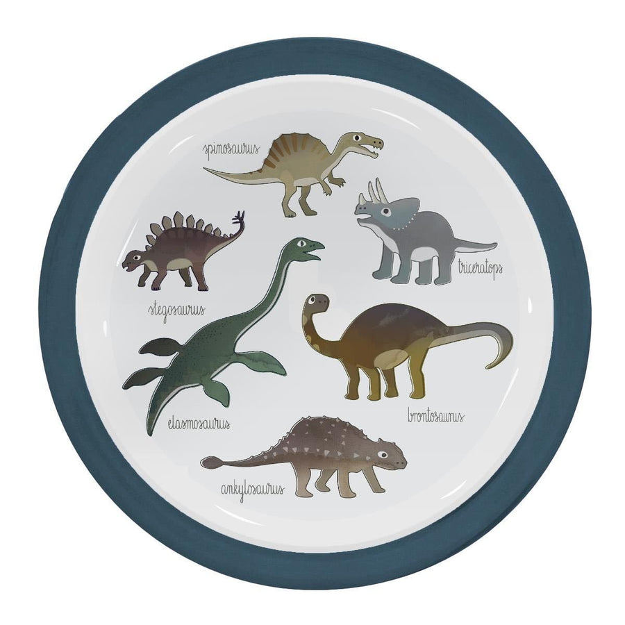 Sebra - Melamine plate - Dino - Eat - Bmini | Design for Kids