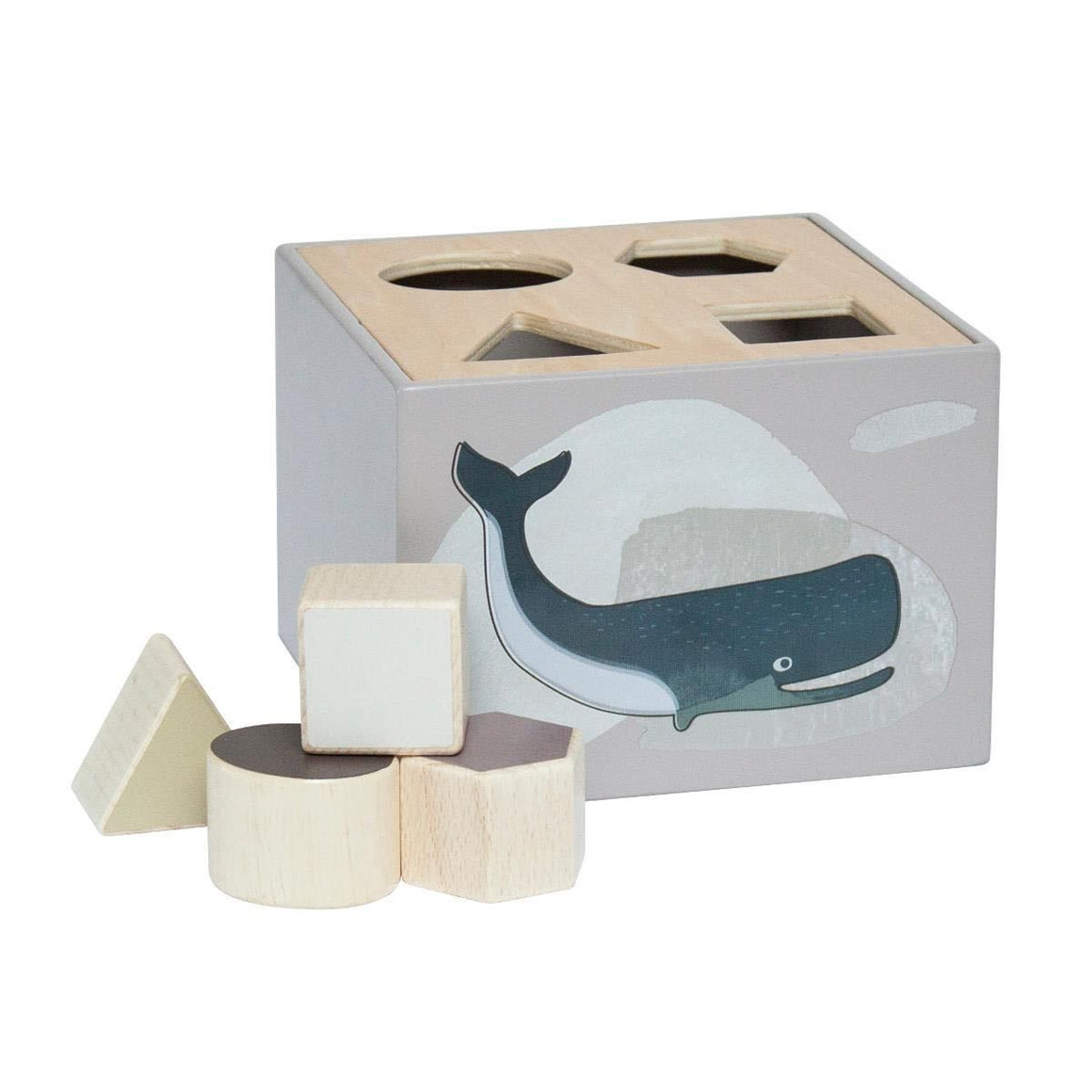 Sebra - Wooden shape sorter - Arctic animals