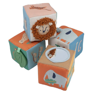 Sebra - Soft baby blocks - Wildlife - Blocks - Bmini | Design for Kids