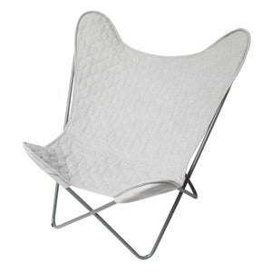 Sebra - Butterfly chair - Elephant grey