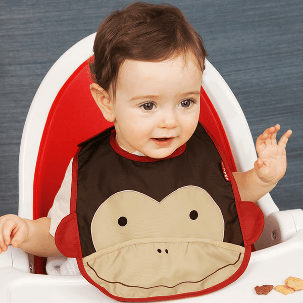 Skip Hop Zoo - Monkey Bib - Bib - Skip Hop - Bmini - Design for Kids - 2