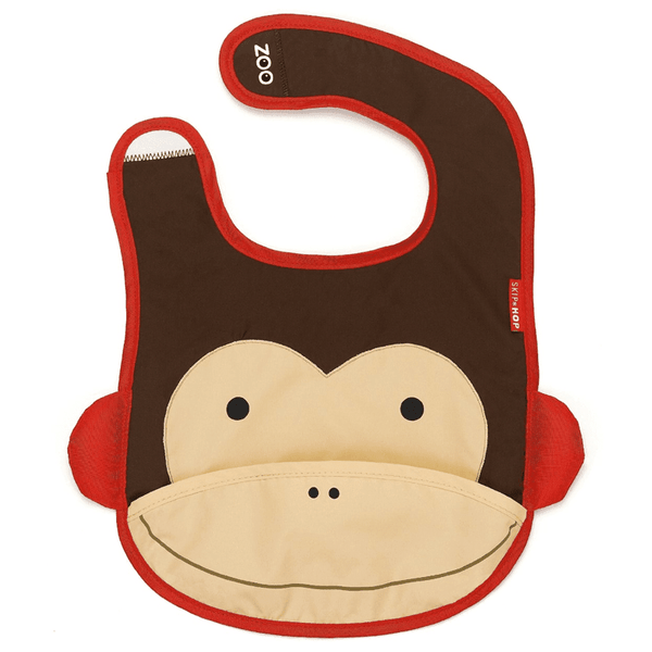 Skip Hop Zoo - Monkey Bib - Bib - Skip Hop - Bmini - Design for Kids - 1
