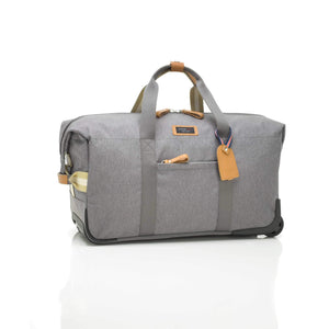 Storksak - Cabin Carry on - Grey - Changing Bag - Bmini | Design for Kids
